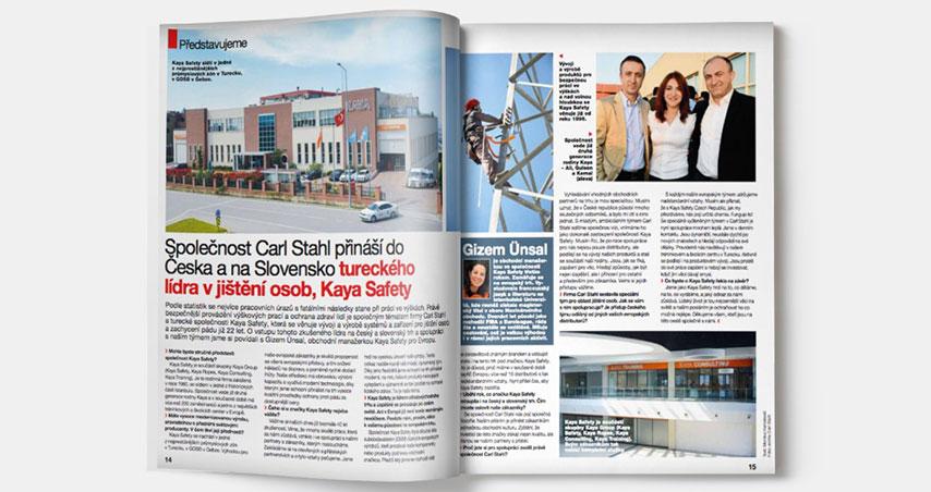Kaya Safety and Carlstahl Partnership in Czech Republic